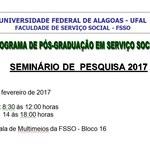 Seminário de Pesquisa 2017